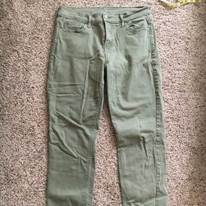 Old navy sage green pants